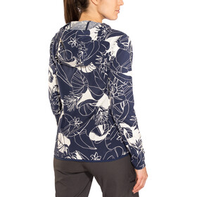 Patagonia W's Bajadas Hoody Valley Flora: Classic Navy/Rosewater